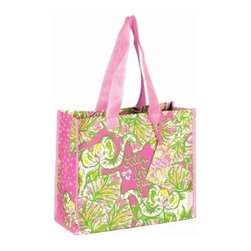 Lilly Pulitzer - Lilly Pulitzer Insulated Beverage Bucket, Elephant Ears - Keep all of your picnic or tailgating necessities cool and refreshing with our Lilly Pulitzer stylish Insulated Beverage Bucket. This bucket even folds flat for convenient storage. Whether beach, back porch, or truckbed you will be the hostess with the mostess as the bottle opener is included, just add ice and drink.