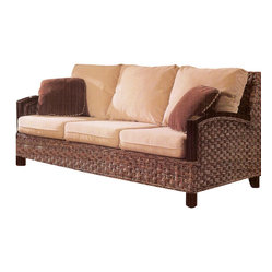 Kensington Rattan Sleeper Sofa