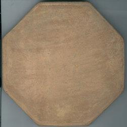 Saltillo Pavers - Item Original Octagonal Natural lSaltillo Paver.