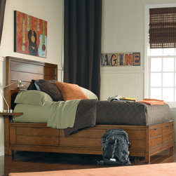 RR - Carter Platform Storage Bed - Carter Platform Storage Bed
