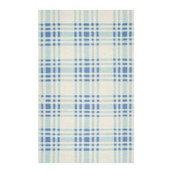 Country Living - Country Living HC5805-3656 Happy Cottage Flatweave Hand Woven Wool Rug - From Country Living the Happy Cottage collection offers classic cottage inspired style in a fresh and cheerful color palette. Designs include classic farmhouse stripes, bold plaids, and vintage patterns, transforming any space into a cozy retreat. These flat pile reversible rugs are hand woven in India from 1% wool.