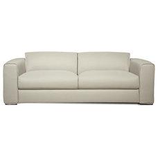 Modern Sofas Lenox Light Grey 3 Seat Sofa