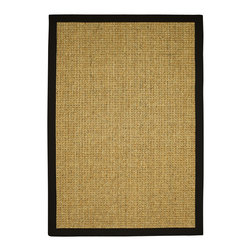 "Natural Area Rugs - ""South Beach"" Sisal Rug, 100% Natural Fiber - Free & Same Day Shipping within Continental USA. International Shipping Available (Contact us for a quote). All natural sisal rug handcrafted in USA by Artisan rug maker. Naturally durable and anti-static, this earth friendly rug is great for high traffic areas. Enjoy this sisal rug with cotton border and non-slip latex backing along with its stylish and contemporary look. Variations are part of the natural beauty of natural fiber. We recommend a rug pad as it will protect not only your rug but your hardwood floor as well."