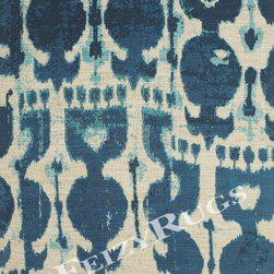 Amazing rugs - Blue is still one of the most popular colors and this indigo is a hit for Feizy. With the natural, organic feel, it looks like blue batik.