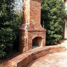 Modern Fire Pits by Charlotte Pavers & Stone