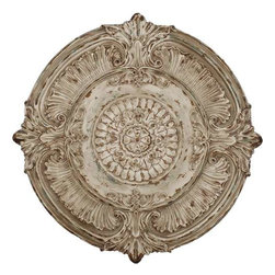 Paragon Art - Paragon Vintage Medallion - Artwork - Vintage Medallion ,  Paragon Wall Sculpture , Paragon has some of the finest designers in the home accessory industry. From industry veterans with an intimate knowledge of design, to new talent with an eye for the cutting edge, Paragon is poised to elevate wall decor to a new level of style.