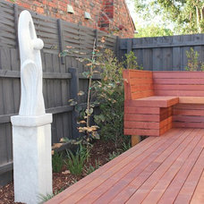 Contemporary Patio by Andrew Whyte Landscape Design