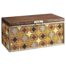 Eclectic Decorative Trunks by Pier 1 Imports
