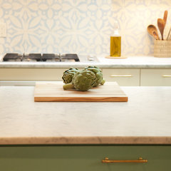 eclectic kitchen by Sara Cukerbaum