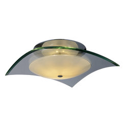Curva 3-Light Flush Mount, Small