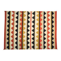 1800-Get-A-Rug - Flat Weave Hand Woven Reversible Navajo Sh13217 - About Flat Weave