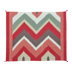 1800-Get-A-Rug - Hand Woven Flat Weave Navajo Design Sh11697 - About Flat Weave