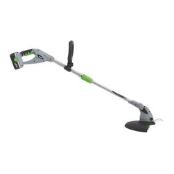 Earthwise - Earthwise - 18-Volt 12-Inch Cordless String T - 18 volt motor. 12-Inch cut width. 18 volt NiCad battery and charger. Compatible with other Earthwise 18 volt tools. Telescopic handle. 3 position adjustable cutting head with flip down edge guard