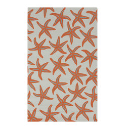 Surya - Surya Rain RAI-1136 (Gray Sage, Burnt Orange) 3' x 5' Rug - Rain or shine, these rugs look great outdoors! These hand hooked all weather rugs are manufactured to withstand the rigors of outdoor use. You don't need to worry about ruining your rug by spilling a drink or dropping food, just hose off and it's clean! The colors and designs we specially created to add to the outdoor ambiance.