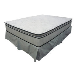 """Coaster - Bristol 12.5"""" Twin Mattress - Our Bristol Pillow Top mattresses provide ultimate plushness and pampering. Experience complete comfort and support while keeping your body's natural alignment intact.; Dimensions: 39""""L x 75""""W x 13""""H/330 coil"""
