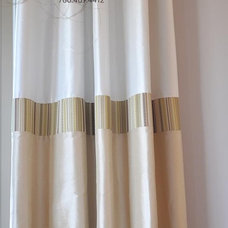 Traditional Curtains by Marie Hebson's interiorsBYDESIGN Inc.