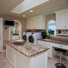 Beach Style Laundry Room by Wesley Design Inc.