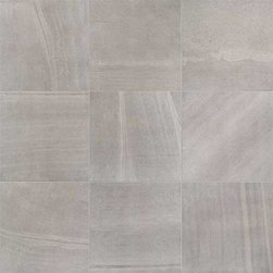 "Edimax - Sands Grey Natural Rectified 24"" x 24"" - Edimax Sands porcelain tiles enhance large living spaces by intensifying their beauty and elegance thanks to the deep sensation of visual continuity. These tiles feature warm tones blended with sensational shading to create sophisticated finishes."