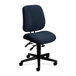 Rulers.com - HON 7700 Series Swivel/Tilt Task Chair - Task seating that's designed to adjust with you--as you adjust to the demands of your workday.