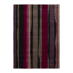 """Surya - Surya Sanderson SND-4501 (Magenta, Cobble Stone) 3'3"""" x 5'3"""" Rug - This Hand Tufted rug would make a great addition to any room in the house. The plush feel and durability of this rug will make it a must for your home. Free Shipping - Quick Delivery - Satisfaction Guaranteed"""