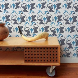 Aimee Wilder Panda Wallpaper - The Panda Wallpaper by Aimee Wilder is full of imagination. With the large range of colors to choose from, you are sure to find the perfect match for your room.