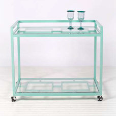 contemporary bar carts by Inside Avenue