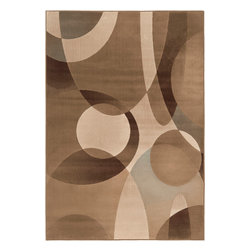 """Surya - Surya Lenoir LEN-2415 (Brown, Lilly Pad Green) 7'9"""" x 10'6"""" Rug - With a 100% polypropylene construction, the radiant rugs of the Lenoir collection include design styles from traditional to transitional, creating a perfect look for any space. Featuring a classic design in warm, inviting coloring, these flawless pieces will remain a timeless part of any home decor for years to come. ''Pantone'' colors include: Dark Forest (19-0506), Ash Gray (16-4402), Taupe (16-1310), Ivory (13-0907), Olive (17-1028), Mocha (19-1217), Rust (18-1425), Moss (16-5810)"""