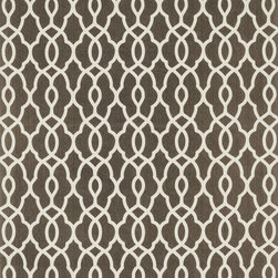 """Loloi Rugs - Loloi Rugs Felix Collection - Brown / Ivory, 2'-3"""" x 3'-9"""" - With bold patterns and fun color options, Felix is an ideal collection for any modern interior. These simple, geometricdesigns are printed in India onto an all-cotton surface, creating a look that's casual but still eye-catching."""