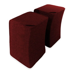 Iconic Revolution Inc. - 3-Story Seating, Garnet - One Seat. . . Three Height Positions. . . Lounge, Table, and Counter Height.