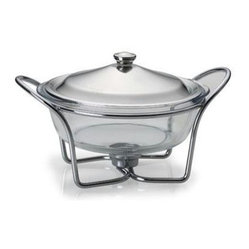 Round Warmer Glass 2 Qt.