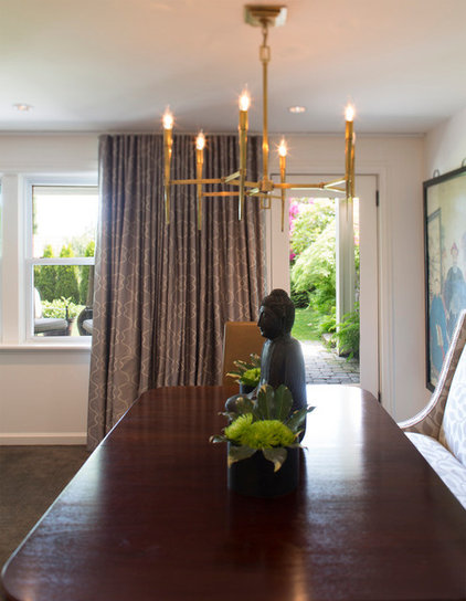 Modern Family Room by Lord Design