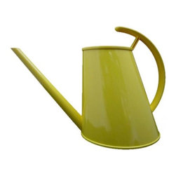 Cayman Watering Cans - This chartreuse looker has all the right angles.
