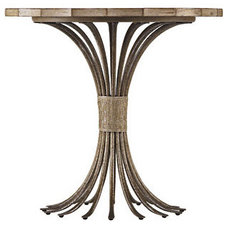 Eclectic Side Tables And Accent Tables by Malouf Furniture & Design