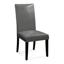 Bassett Mirror - Bassett Mirror Presto Parsons Chair, KD Kleen Seat Metal (Set of 2) - Presto Wood Leg Classic Parsons Chair, KD Kleen Seat Metal, Set of 2