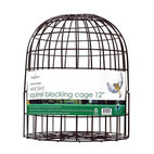 PineBush - Squirrel Blocking Cage 12 inch - Powder coated steel frame. Snaps together in seconds. Can also be used in conjunction with a seed catching tray. Supplied with a securing screw for use with ChapelWood's premium feeders. Ideal for keeping squirrels off most standard feeders. Can be used w