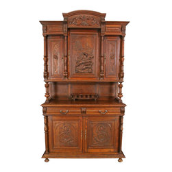 EuroLux Home - Consigned Antique French Carved Oak Henry II - Product Details