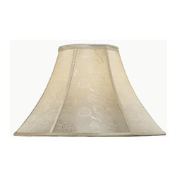 Lite Source - 18 in. Jacquard Bell Shade - Shade top: 7 in. L x 7 in. W. Shade bottom: 18 in. L x 18 in. W. Shade height: 12 in.. Weight: 1.97 lbs.