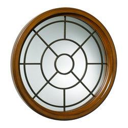 Cyan Design - Cyan Design 03001 Round Grid Mirror - Cyan Design 03001 Round Grid Mirror