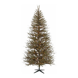 None - 5-foot x 34-inch Vienna Twig Tree,412 Tips - Brighten up your holiday display with this 5-foot Vienna twig tree. With 412 tips begging for decorations,there is plenty of space for your favorite ornaments,balls and bows. This tree includes a base for convenient set-up.