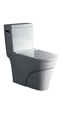 EAGO - EAGO TB326 Modern One Piece Ultra Low Single Flush EcoFriendly WhiteToilet - We are very excited to offer you this top of the line brand of eco-friendly low consumption modern smart toilets. Join the latest fashion trend with EAGO's innovative line of green products.