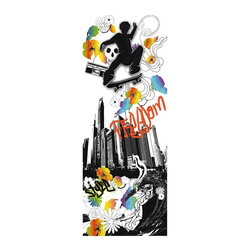 WallPops - Freedom Panel - Spirit Multicolor - 350-0146 - Shop for Stickers from Hayneedle.com! With its urban art design and vibrant colors the Freedom Panel - Spirit is a perfect way to add temporary sass to your space. Simply peel and stick this vertical decal panel anywhere you wish. It's eco-friendly as well as easy to move and remove.