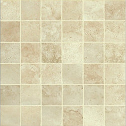 Energie Ker - Como Almond Mosaic 2 x 2 - With its meandering marble appearance, gradients, and bright colors, the Como series understands elegance. This collection is appropriate for places of great refinement.