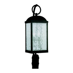 Sea Gull - Sea Gull Two Light Outdoor Post Lantern - Length: 9'' Width: 8 3/4''