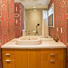 Modern Bathroom by mango design co