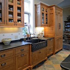 Traditional Kitchen by Bench Made Woodworking