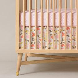 Dwellstudio Rosette Crib Skirt - Dwellstudio Rosette Crib Skirt