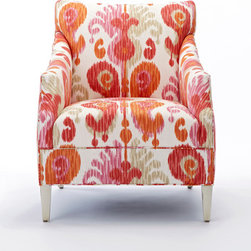 Jaxon Chair in Journey Fruity - Calico Corners
