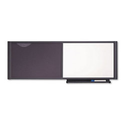 Quartet - Quartet 48 x 18 in. Bulletin / Dry Erase Board Multicolor - QRTWC4818 - Shop for Bulletin Boards from Hayneedle.com! High on style and utility the Quartet 48 x 18 in. Bulletin / Dry Erase Board is a must-have. This set includes combination board marker and mounting hardware. Use half of the board to write and the other half to tack notes. Made in the USA it s a must-have to display notes and pictures in schools and offices. The tackable fabric board will hold pins securely. It will complement office decor and enhance productivity as well.About United StationersDedicated to making life in the office more organized efficient and easier United Stationers offers a wide variety of storage and organizational solutions for any business setting. With premium products specifically designed with the modern office in mind we're certain you will find the solution you are looking for.From rolling file carts to stationary wall files every product in the United Stations line is designed with one simple goal: to improve office efficiency. In turn you will find increased productivity happier more organized employees and an office setting that simply runs better with the ultimate goal of increasing bottom line profits.