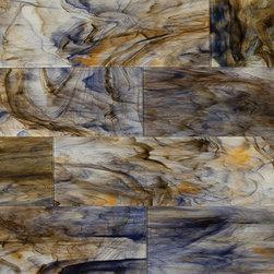 Hirsch glass tile , Raw Elegance Ravishing -