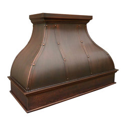 Bella Copper Range Hood -